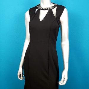 LITTLE MISTRESS Maxi Dress w/ Embellishments (NWT)